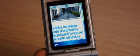 Aplicación móvil con información sobre la Alhambra