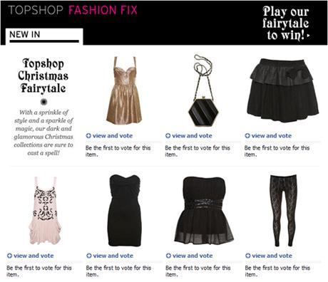 Aplicación Topshop Fashion Fix