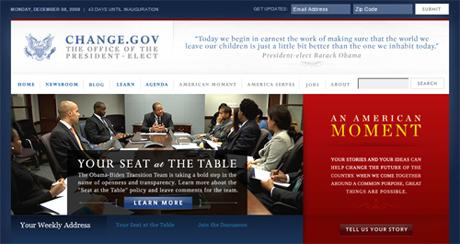 Change.gov: The Obama-Biden Transition Team