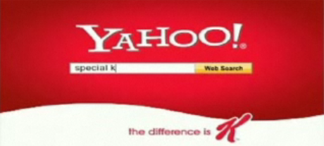 go to yahoo.com and enter the keyword special k for more information